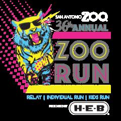 36th Annual Zoo Run Relay registration logo