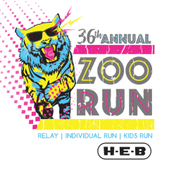 36th Annual Zoo Run Relay registration logo