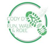 3rd Annual Cody D's Run, Walk, & Roll registration logo