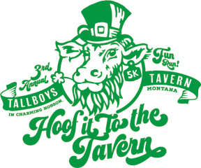 4th Annual Hoof It to the Tavern 5K registration logo