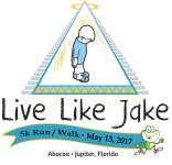 3rd Annual Live Like Jake 5K Run/Walk registration logo