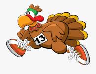 3rd Annual Turkey Trot Mile Fun Run registration logo