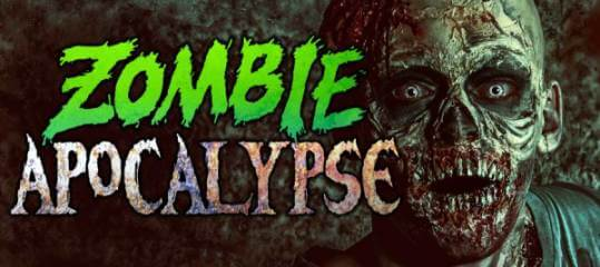 3rd Annual Zombie Apocalypse Run registration logo