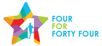 4 For 44 - Team Relay registration logo