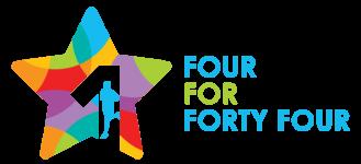 4 For 44 - Team Relay registration logo