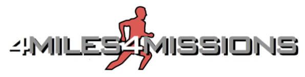 4 Miles 4 Missions registration logo