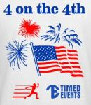 4 on the Fourth in Fort Wayne registration logo