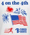 4 on the Fourth in Fort Wayne registration logo