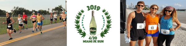 4/20 Miami 5K registration logo