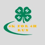 4K for 4H registration logo