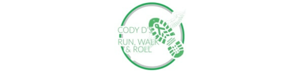 4th Annual Cody D's Run, Walk, & Roll registration logo