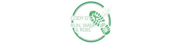 4th Annual Cody D's Run, Walk, & Roll registration logo