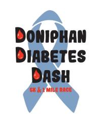 4th Annual Doniphan Diabetes Dash registration logo