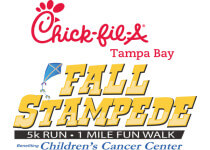 4th Annual Fall Stampede Presented by Chick-fil-A Benefiting the Childrens Cancer Center registration logo