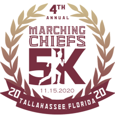 4th Annual Marching Chiefs 5K registration logo