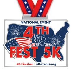 4th Fest 5K - Remote Run aka Virtual Run/Walk registration logo