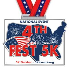4th Fest 5K - Remote Run aka Virtual Run/Walk registration logo