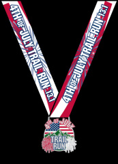 4th of July Trail Run 13.1 virtual registration logo