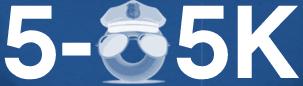 5-0 5k Run and Walk registration logo
