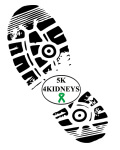 5k 4 Kidneys registration logo