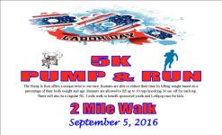 5K & Pum & Run registration logo