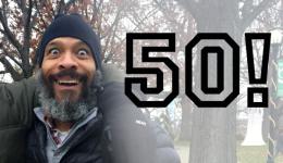 5K for 50 registration logo
