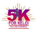 5K For Kelci registration logo