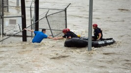 5k Fundraiser for TX Flood Victims & Families registration logo