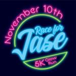 5K Glow Run for Jase registration logo