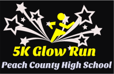 5K Glow Run registration logo