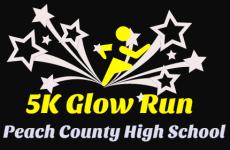 5K Glow Run registration logo