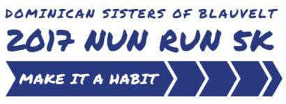 5K Nun Run  registration logo