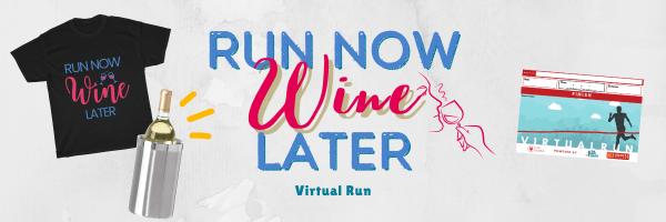 5K Run 4 Wine Virtual Race registration logo