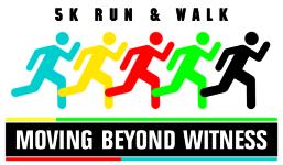 5K Run & Walk Moving Beyond Witness registration logo