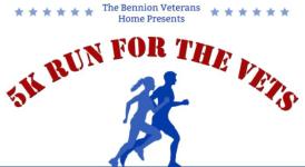 5K Run for the Vets registration logo