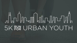 5K Run for Urban Youth registration logo