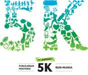 5K Run-Mania registration logo