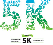 5K Run-Mania registration logo