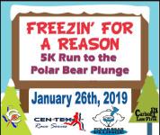 5k Run to the Polar Bear Plunge registration logo