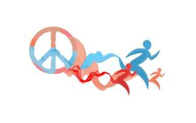 5K Run-Walk For Peace and Equity registration logo