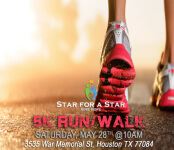 5K Run/Walk-Star For A Star registration logo