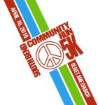 5K South Bend Community Peace Run registration logo