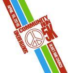 5K South Bend Community Peace Run registration logo