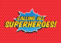 5K Superhero Fun Run registration logo
