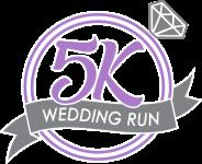 5K Wedding Run registration logo