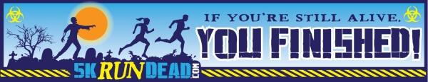 5KRunDead Zombie Run - Houston, TX - 2/20/16 registration logo