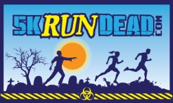 5KRunDead Zombie Run - Oklahoma City, OK registration logo