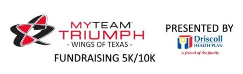 5th Annual myTEAM Triumph Wings of Texas 5k & 10K Run registration logo