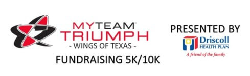 5th Annual myTEAM Triumph Wings of Texas 5k & 10K Run registration logo