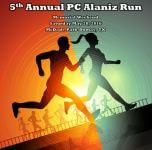 5th Annual PC Alaniz Run registration logo